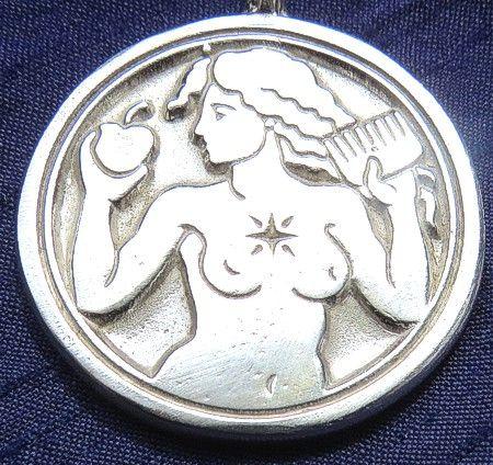 Silver Venus Talisman for Love